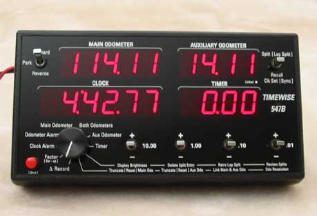 TIMEWISE 547B RALLY ODOMETER