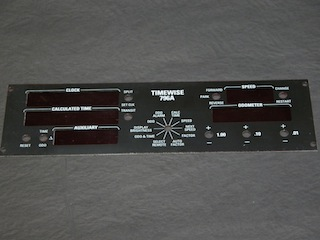 Timewise 796A Front Panel